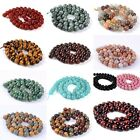 8mm round ball loose gemstone diy jewelry making beads strand 16""