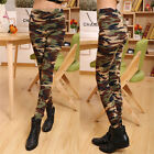 Sexy Camouflage Fashion Womens Camo Skinny Print Leggings Stretch LeggingsPantsS