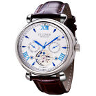 Mens Zeitner Limited Edition Stylish Autodate Automatic Watch In 4 Colours