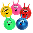"18"" Space Hopper Jump Bounce Ball Kid Outdoor Activities Toys Smile Face Design"