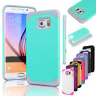 New Slim Shockproof Rugged Hybrid Rubber Hard Cover Case Skin For Samsung Galaxy