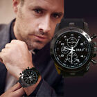 Mens Watch Luxury Stainless Steel Sport Analog Quartz Modern Wrist Watch 2015