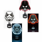 Star Wars Shaped Neon Table Light - New Official In Box Darth Vader Stormtrooper