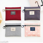 Basic Pouch [S] Makeup Cosmetic Pen Case Holder Organizer Bag Travel Storage
