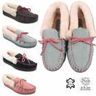 Ladies Slippers Womens Faux Fur Lined Slip On Mules Shoes ULTRA LIGHT COMFORT