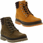 Helly Hansen Gataga Mens Brown Leather Waterproof Ankle Boots
