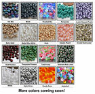 6/0 Czech Glass Seed Beads 10 Grams Choose Color