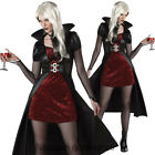 C792 Blood Thirsty Beauty Woman Vampire Gothic Halloween Fancy Dress Costume