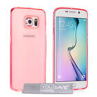 Yousave Accessories Samsung Galaxy S6 Edge Ultra Thin Clear Gel Phone Case Cover