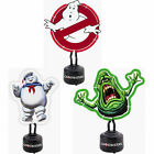 Ghostbusters: Shaped Neon Table Light Slimer / Marshmallow Man / Logo New Boxed