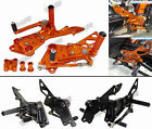 Adjustable Rearsets Rear Set Foot Rest Pegs For 2011-2015 KTM Duke 125 200 390
