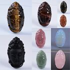 40mm Gemstone Kwan-yin buddha pendant bead different quantity for your choice