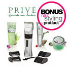 INMOOD Clippers + BONUS Prive Styling Product - Cord/Cordless Kit - PACK CHOICE
