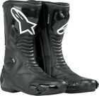 Alpinestars S-MX 5 Waterproof Street Riding Motorcycle Boots Black All Sizes
