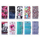1Pc Pretty Tide Synthetic Leather Wallet Credit Card Case Stand Cover Fr Samsung