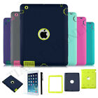 Heavy Duty Hybrid Shockproof Case Cover For Ipad 2/3/4 Mini / Air 1st Generation