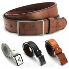 Luxury Men's Casual Waistband Leather Automatic Buckle Belt Waist Strap Belts