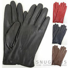 Ladies / Womens Soft Leather Gloves with Attractive 3 Point Stitch Design