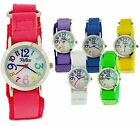 Reflex Boys Girls Kids Velcro Fabric Strap Analogue Watch Xmas Gift For Kids