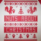 womens nuts about christmas t shirt funny ugly squirrel sweater xmas holiday top