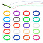20pcs 1.75mm Modeling Stereoscopic ABS Print Filament For 3D Drawing Printer Pen