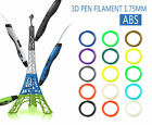 20pcs Color 3D Printer Pen Filament  1.75mm ABS PLA  For RepRap MarkerBot Gifts