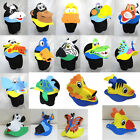 Animal Zoo Jungle Farm Foam Costume Fancy Dress Sun Visor Hat Children Kids