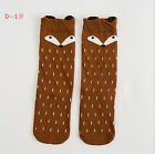 Baby Childres Toddlers Fox Knee High Socks Tights Leg Warmer Stockings