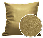 Pb324a Lt Bronze Faux Leather Skin Soft PU Cushion Cover/Pillow Case Custom Size