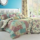 Dreams & Drapes MARINELLI - Baroque Patchwork Pencil Pleat Curtain / Bedding Set