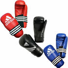 NEW ADIDAS MENS MARTIAL ARTS KARATE WAKO VELCRO SEMI CONTACT GLOVES PRO 3 COLOR