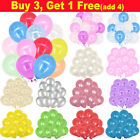 "100PCS HELIUM Pearlised Latex Balloons 10"" Wedding Birthday Party CHRISTENING"
