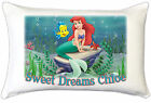 Ariel Mermaid Childrens Personalised Pillow Case Childrens Bedroom Gift Idea