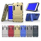 2 in 1 Shockproof Armor TPU + PC Case Stand Cover For Samsung Galaxy J2 J5 J7