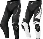 Alpinestars Track Airflow Leather Motorcycle Riding Pants Mens All Size & Colors