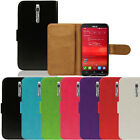 New Flip Leather Case Wallet Cover For The Asus Zenfone Smartphone Series
