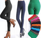 Women High Waist Pants 6-20 Stretch Sexy Pencil Slim Fit Skinny Jeans Trousers