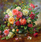 Poster / Leinwandbild Roses - The Perfection of Summer - Albert Williams