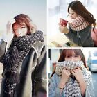 Women Winter Warm Knit Crochet Wool Scarf Wrap Shawl Stole Scarves Pashmina GIFT