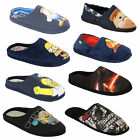 Mens Slippers Homer Simpson Mule Sandals Slip On Woo Hoo Cushioned Duff Novelty