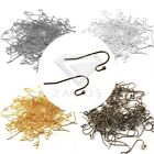 130Pcs 20g Antiqued Copper Plated Dot Ball French Hook Jewelry Earring Ear Wires