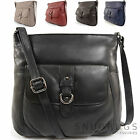 Ladies / Womens Soft Premium Leather Cross Body / Shoulder Bag