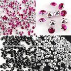 1000x Pointed Multicolor Resin Rhinestone Beads Sticker For Decor Craft DIY