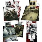WALKING DEAD SINGLE DUVET COVER SETS FLEECE BLANKET BEDROOM BEDDING NEW FREE P+P