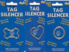 Choose Style - Pet Dog Tag Silencer - Glows In Dark - Eliminates Tag Noise