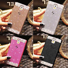 NEW 3D Bling Glitter sparkle Crystal Rhinestone Hard Case Cover for Samsung Note