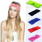 FD1356 Women Turban Twist Headband Head Wrap Twisted Knotted Knot Soft Hair ✿