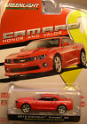 GREENLIGHT COLLECTIBLES 1:64 SCALE DIECAST METAL 2012 CHEVROLET CAMARO 7 CAR SET