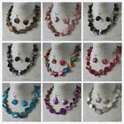 Wholesale 4 - 8 - 12 Mother of Pearl Shell Necklaces & Earrings in 10 Colours