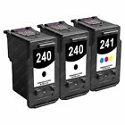 3-PACK Canon PG-240 CL-241 Ink Cartridge for Pixma MG and MX Series Printer
